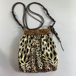 Animal Print Handbag Purse